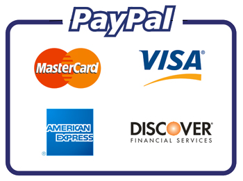 Paypal Mastercard Visa AmEx Discover Electrician